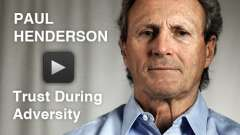 May 11: Paul Henderson on Trust During Adversity