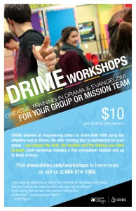 DRIME Workshops Image