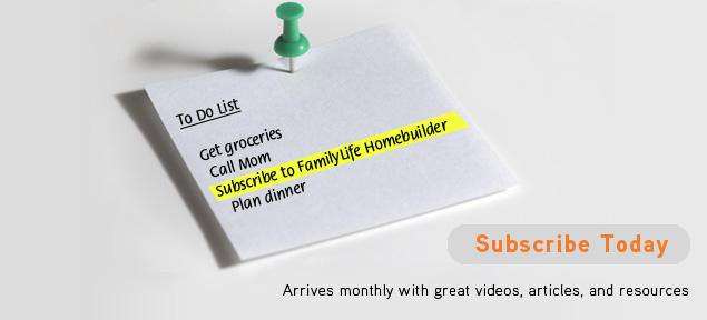 Subscribe to FamilyLife Canada