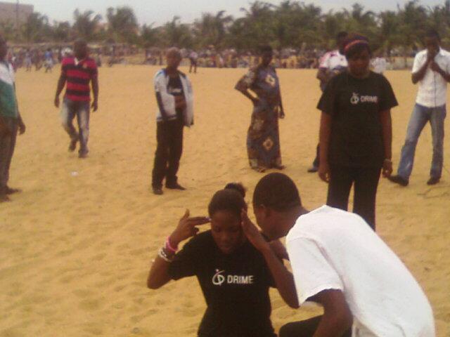 Benin beach ministry