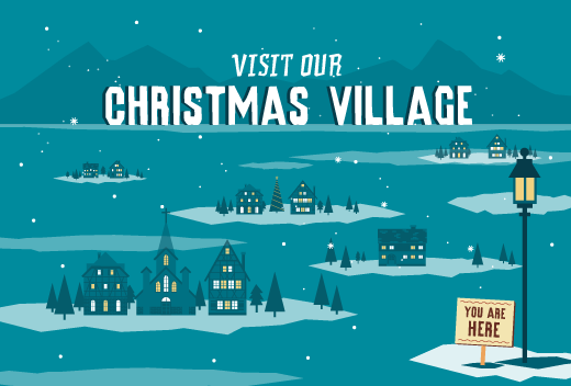 P2C Christmas Village