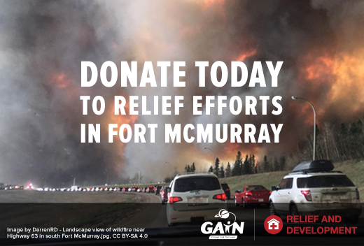 Donate Today to Relief Efforts in Fort McMurray